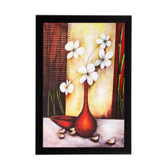 ecraftindia-botanical-white-flowers-matt-textured-uv-art-painting_1