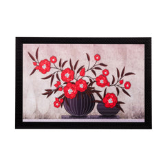 ecraftindia-botanical-red-flowers-matt-textured-uv-art-painting_1