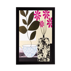 ecraftindia-botanical-black-pink-flower-matt-textured-uv-art-painting_1