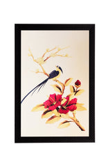 ecraftindia-bird-flower-matt-textured-uv-art-painting_1