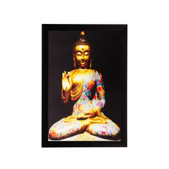 ecraftindia-spiritual-buddha-matt-textured-uv-art-painting_1