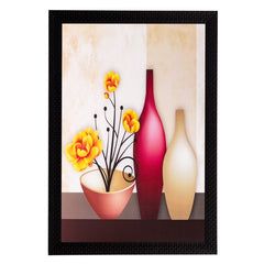 ecraftindia-vases-and-flowers-matt-textured-uv-art-painting_1