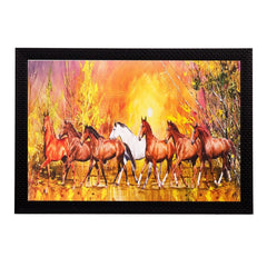 ecraftindia-running-brown-lucky-horses-matt-textured-uv-art-painting_1