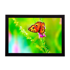 ecraftindia-orange-butterfly-satin-matt-texture-uv-art-painting_1