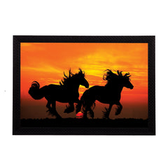ecraftindia-black-running-horses-satin-matt-texture-uv-art-painting_1