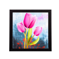 ecraftindia-pink-lilly-satin-matt-texture-uv-art-painting_1