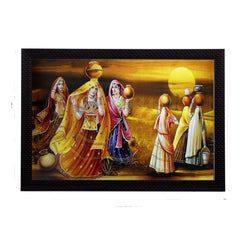 fpgk2040-ecraftindia-village-lady-group-satin-matt-texture-uv-art-painting_1