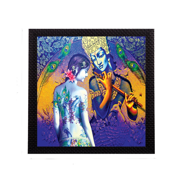 ecraftindia-artistic-lady-and-krishna-figurine-satin-matt-texture-uv-art-painting_1