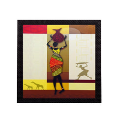 fpgk2171-ecraftindia-tribal-woman-satin-matt-texture-uv-art-painting_1