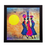 ecraftindia-abstract-village-women-satin-matt-texture-uv-art-painting_1