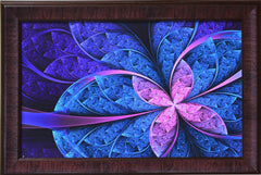 ecraftindia-purple-leaf-design-satin-matt-texture-uv-art-painting_1