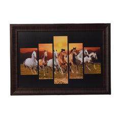 ecraftindia-lucky-running-horses-5-cut-design-satin-matt-texture-uv-art-painting_1
