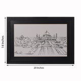 ecraftindia-sketched-tajmahal-satin-matt-texture-uv-art-painting_3