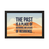 "ecraftindia-""the-past-is-a-place-of-reference-not-a-place-of-residence""-motivational-quote-satin-matt-texture-uv-art-painting_1"