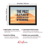 "ecraftindia-""the-past-is-a-place-of-reference-not-a-place-of-residence""-motivational-quote-satin-matt-texture-uv-art-painting_4"