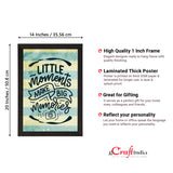 "ecraftindia-""little-moments-make-big-memories""-motivational-quote-satin-matt-texture-uv-art-painting_4"
