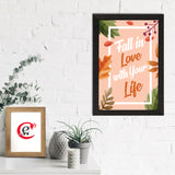 "ecraftindia-""fall-in-love-with-your-life""-motivational-quote-satin-matt-texture-uv-art-painting_2"