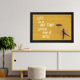 "ecraftindia-""life-is-a-one-time-offer-use-it-well""-motivational-quote-satin-matt-texture-uv-art-painting_3"
