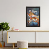 "ecraftindia-""be-your-own-kind-of-beautiful""-motivational-quote-satin-matt-texture-uv-art-painting_3"
