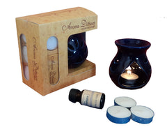 ecraftindia-blue-aroma-burner-ser-with-lavender-aroma-oil-and-4-tea-light-candles_1