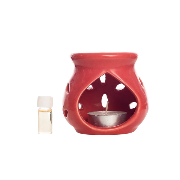 ecraftindia-red-aroma-burner-ser-with-red-rose-aroma-oil-and-4-tea-light-candles_1
