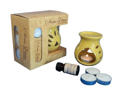 ecraftindia-yellow-aroma-burner-set-with-lemon-grass-aroma-oil-and-4-tea-light-candles_1