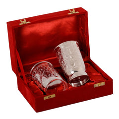 ecraftindia-german-silver-2-glass-set-with-velvet-box_1