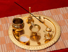ecraftindia-german-silver-exquisite-pooja-thali-with-velvet-box_1