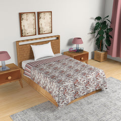 ecraftindia-brown-pink-and-grey-floral-print-single-bed-reversible-ac-cotton-dohar_1