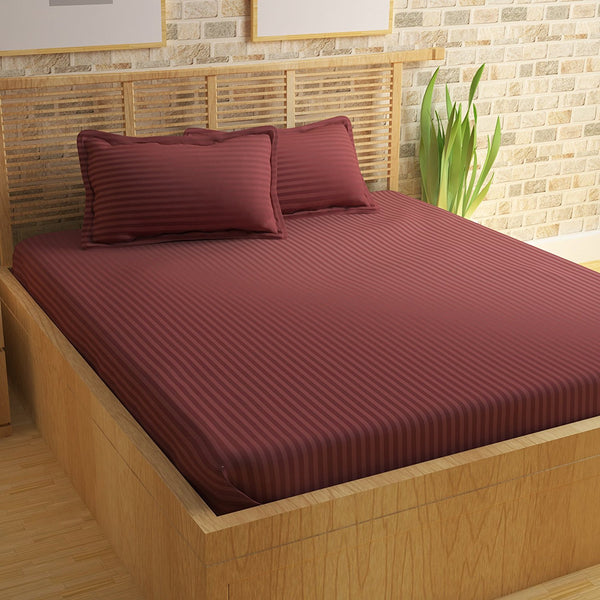 ecraftindia-210-tc-premium-luxury-cotton-satin-striped-double-bed-king-size-bedsheet-(100-in-x-108-in)-with-2-pillow-cover-copper-brown_1