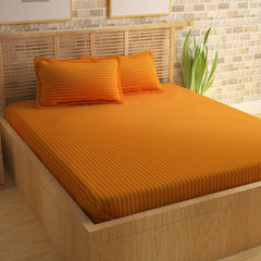 ecraftindia-210-tc-premium-luxury-cotton-satin-striped-double-bed-king-size-bedsheet-(100-in-x-108-in)-with-2-pillow-cover-yellow_1