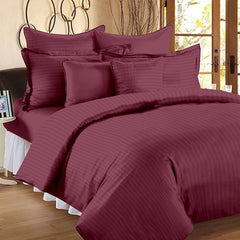 ecraftindia-210-tc-premium-luxury-cotton-satin-striped-double-bed-king-size-bedsheet-(100-in-x-108-in)-with-2-pillow-cover-magenta_1