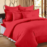 ecraftindia-210-tc-premium-luxury-cotton-satin-striped-double-bed-king-size-bedsheet-(100-in-x-108-in)-with-2-pillow-cover-red_1