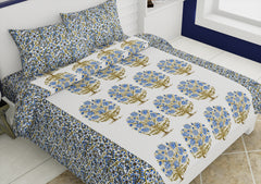 ecraftindia-144-tc-pure-cotton-premium-floral-print-double-bed-bedsheet-(90-in-x-108-in)-with-2-pillow-cover-blue_1