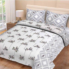 ecraftindia-144-tc-pure-cotton-floral-print-double-bed-bedsheet-(90-in-x-108-in)-with-2-pillow-cover-grey_1