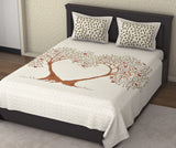 ecraftindia-180-tc-pure-cotton-premium-double-bed-king-size-heart-formation-by-apple-trees-design-bedsheet-(100-in-x-108-in)-with-2-pillow-cover-brown_1