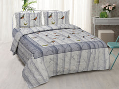 ecraftindia-180-tc-pure-cotton-premium-double-bed-king-size-birds-design-bedsheet-(100-in-x-108-in)-with-2-pillow-cover-grey_1