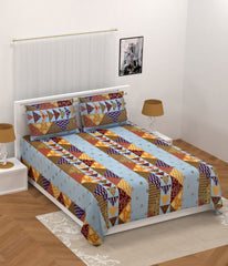 ecraftindia-210-tc-premium-luxury-cotton-kantha-patchwork-double-bed-king-size-bedsheet-(100-in-x-108-in)-with-2-pillow-cover-blue_1