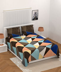 ecraftindia-140-tc-glace-cotton-double-bed-geometric-design-bedsheet-(90-in-x-100-in)-with-2-pillow-cover_1