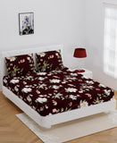 ecraftindia-140-tc-glace-cotton-double-bed-multicolor-floral-design-bedsheet-(90-in-x-100-in)-with-2-pillow-cover_2