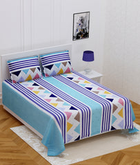 ecraftindia-140-tc-glace-cotton-double-bed-abstract-geometric-design-bedsheet-(90-in-x-100-in)-with-2-pillow-cover_1