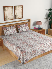 ecraftindia-210-tc-pure-cotton-premium-double-bed-king-size-floral-design-bedsheet-(100-in-x-108-in)-with-2-pillow-cover-pink_1