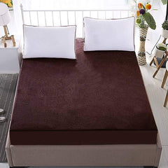 ecraftindia-100%-waterproof-terry-cotton-fitted-mattress-protector-for-king-size-bed-(78-x-72-inch,-brown)_1