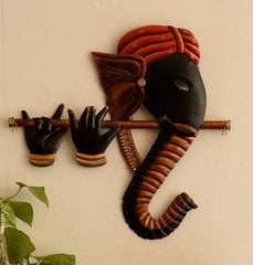 ecraftindia-wrought-iron-bansuri-ganesha-wall-hanging_1