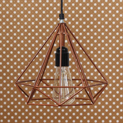 ILAMP_CL03-eCraftIndia-Edison-Filament-Copper-Finish-Diamond-Cage-Pendant-Light,-Ceiling-Hanging-Lamp-for-Home/Living-Room/Offices/Restaurants_1