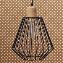 ILAMP_CL04-eCraftIndia-Edison-Filament-Black-Finish-Diamond-Cage-Pendant-Light,-Ceiling-Hanging-Lamp-for-Home/Living-Room/Offices/Restaurants_1