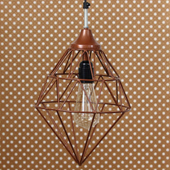 ILAMP_CL05-eCraftIndia-Edison-Filament-Copper-Finish-Diamond-Cage-Pendant-Light,-Ceiling-Hanging-Lamp-for-Home/Living-Room/Offices/Restaurants_1