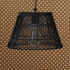 ILAMP_CL20-eCraftIndia-Black-Wire-Mesh-Pendant-Light,-Ceiling-Hanging-Lamp-for-Home/Living-Room/Offices/Restaurants_1