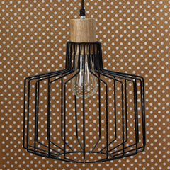 ILAMP_CL22-eCraftIndia-Black-Designer-Cage-Pendant-Light,-Ceiling-Hanging-Lamp-for-Home/Living-Room/Offices/Restaurants_1