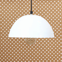 "ILAMP_CLS11-eCraftIndia-Shining-White-Glossy-Finish-Pendant-Light,-10""-Diameter-Ceiling-Hanging-Lamp-for-Home/Living-Room/Offices/Restaurants_1"